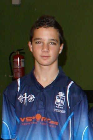 Andrés Martínez, jugador del equipo de Primera División Nacional